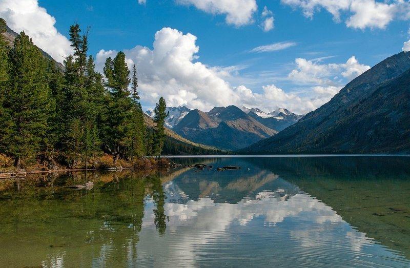 Озеро Среднемультинское алтай, озёра, путешествия, фото