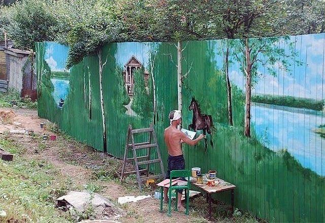 Когда дачник - художник! Как Вам творчество?