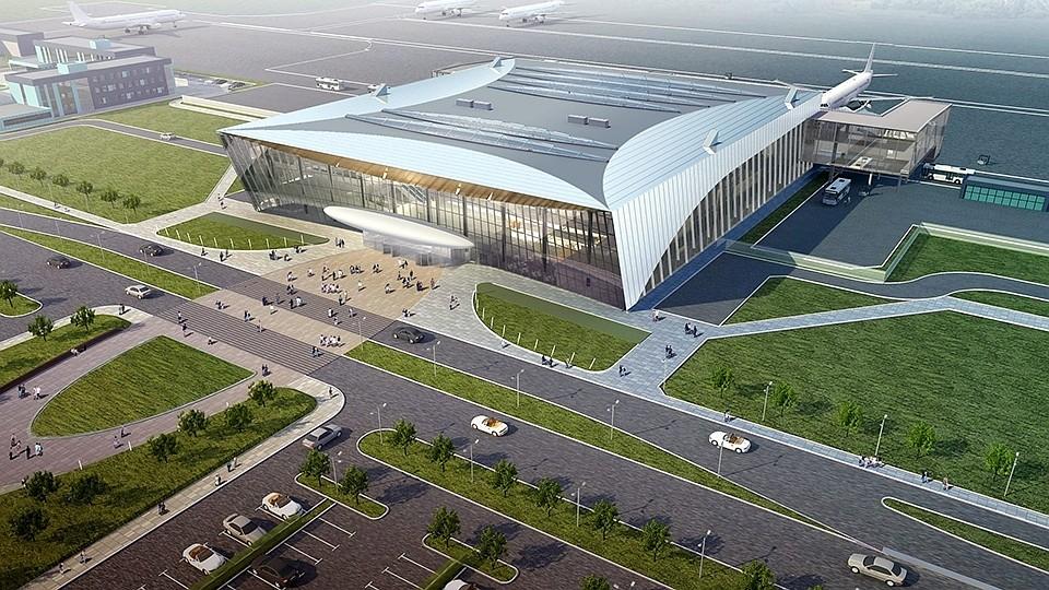 Аэропорт «Гагарин» в Сабуров…