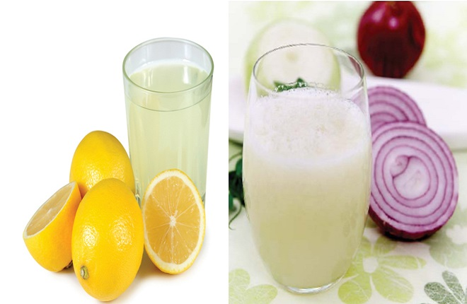 Луковый сок с лимонным — мощное натуральное средство от седых волос