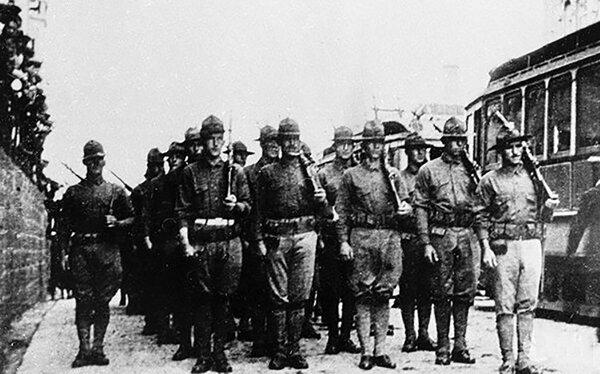 Забытая оккупация: Как сто лет назад армия США вторглась в Россию новости,события