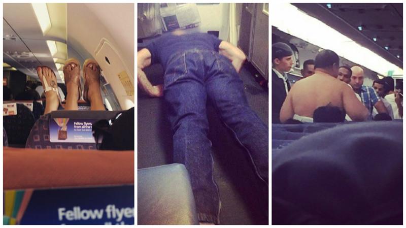 Самые отвратительные пассажиры, которые способны испортить весь полёт