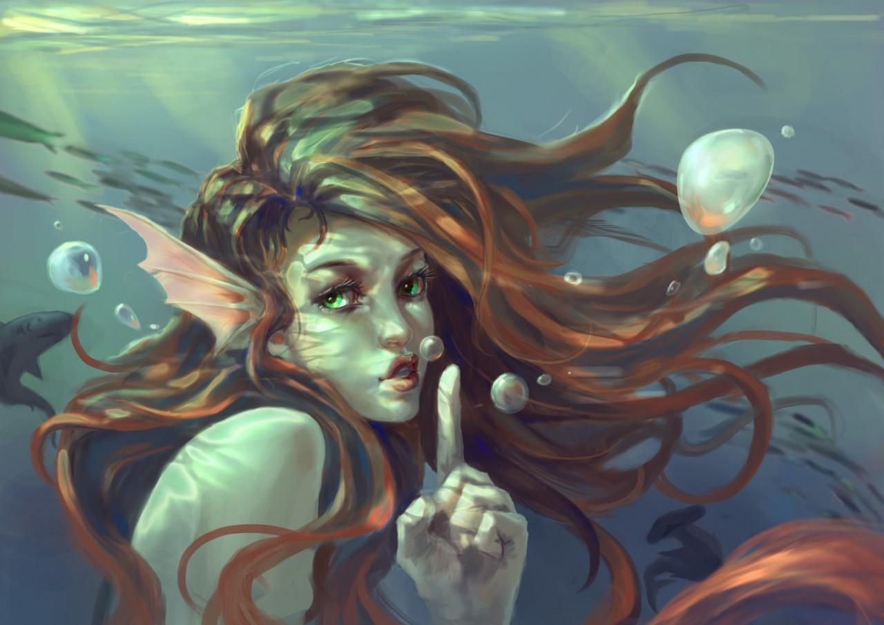 Легенды о морских человекоподобных существах. Часть 1