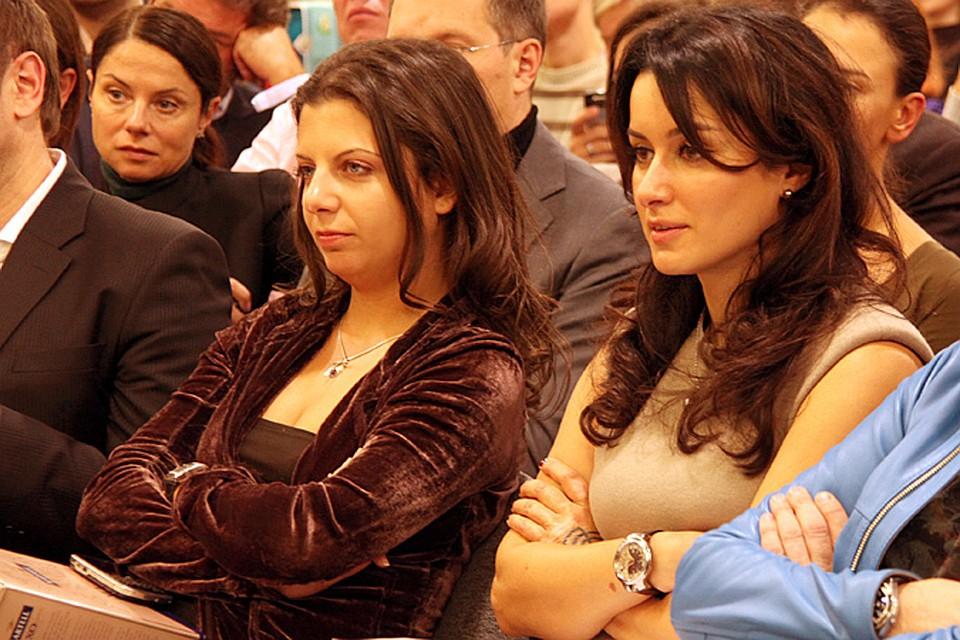 Канделаки и Симоньян отреагировали на выходку грузинского телеведущего