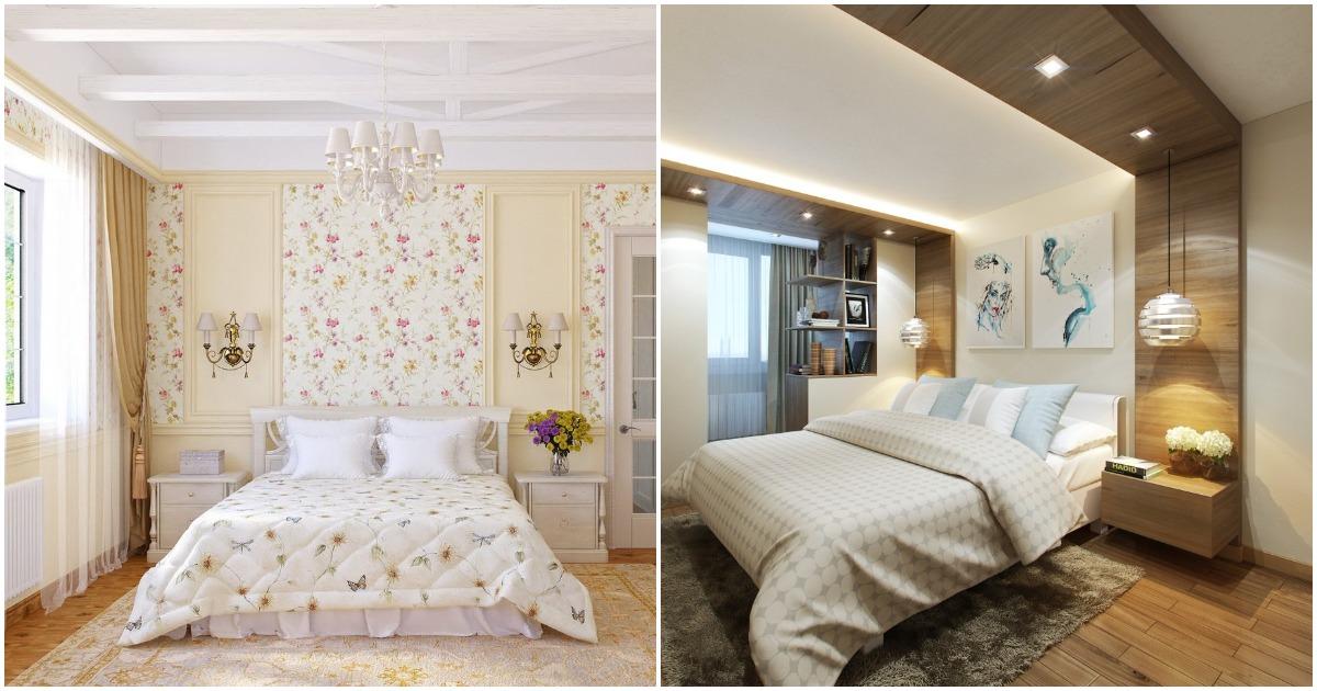 Идеи для интерьера спальни, в котором вы будете чувствовать себя уютно и умиротворенно