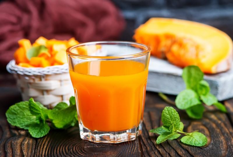Сок из тыквы для похудения отзывы