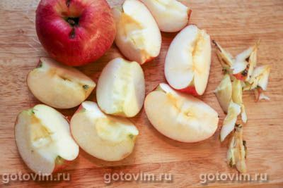 Яблочный квас, Шаг 01