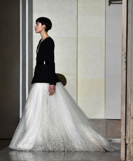 Givenchy Haute couture весна-лето 2018 — сила стиля и сила характера