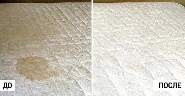 Натуральный пятновыводитель для матраса: больше никаких пятен и запаха