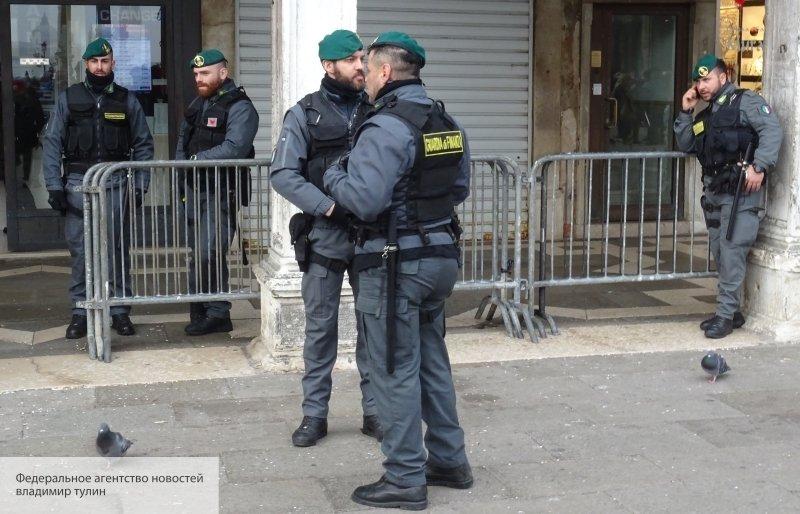 Итальянская полиция озвучила…