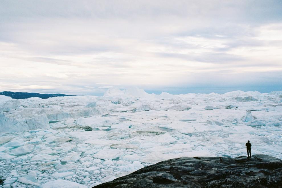 Красоты Гренландии в лучах полярного солнца