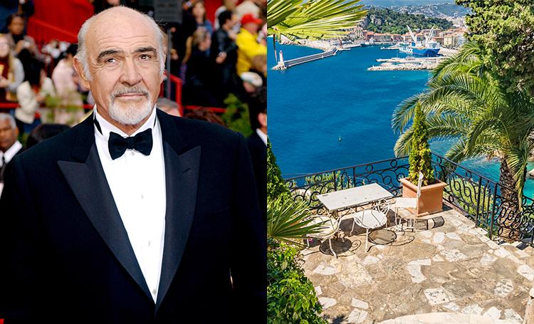 """Как жил Шон Коннери: экскурсия по вилле """"агента 007"""" на Лазурном берегу Стиль жизни,Дома звезд"""