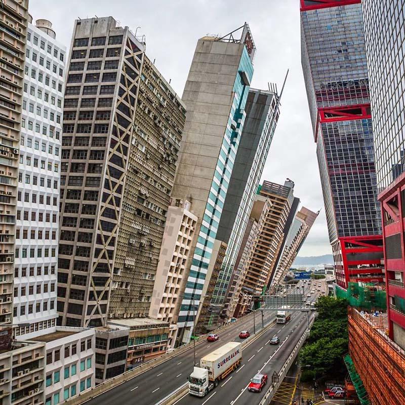 Этот художник в Ñвоих ÑюрреалиÑтичеÑких фотографиÑÑ… показывает Гонконг таким, каким его знают немногие.