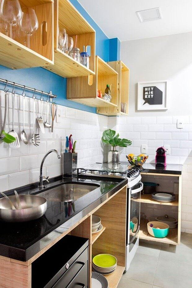 Отличные идеи дизайна маленьких кухонь, которые сделают ваше пространство уникальным