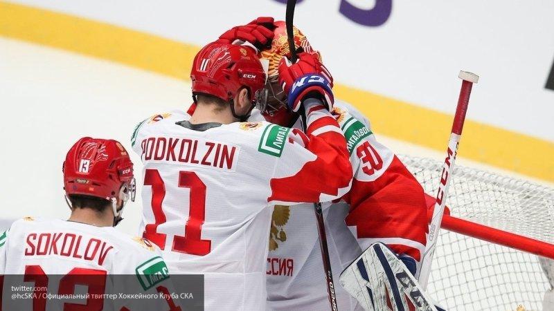 Сборная России по хоккею выиграла у финнов в полуфинале юношеской Олимпиады со счетом 10:1