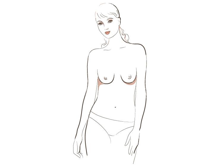 разные типы женской груди фото