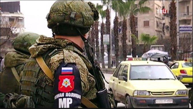 Российская военная полиция з…