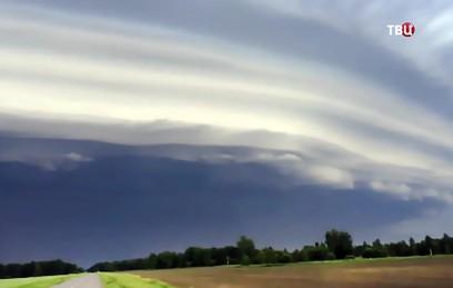 В Барнауле из-за урагана введен режим чрезвычайной ситуации