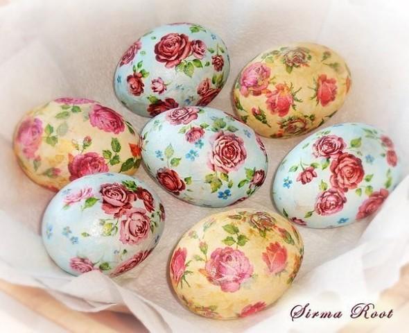 Интересная идея декпужа вареных яиц