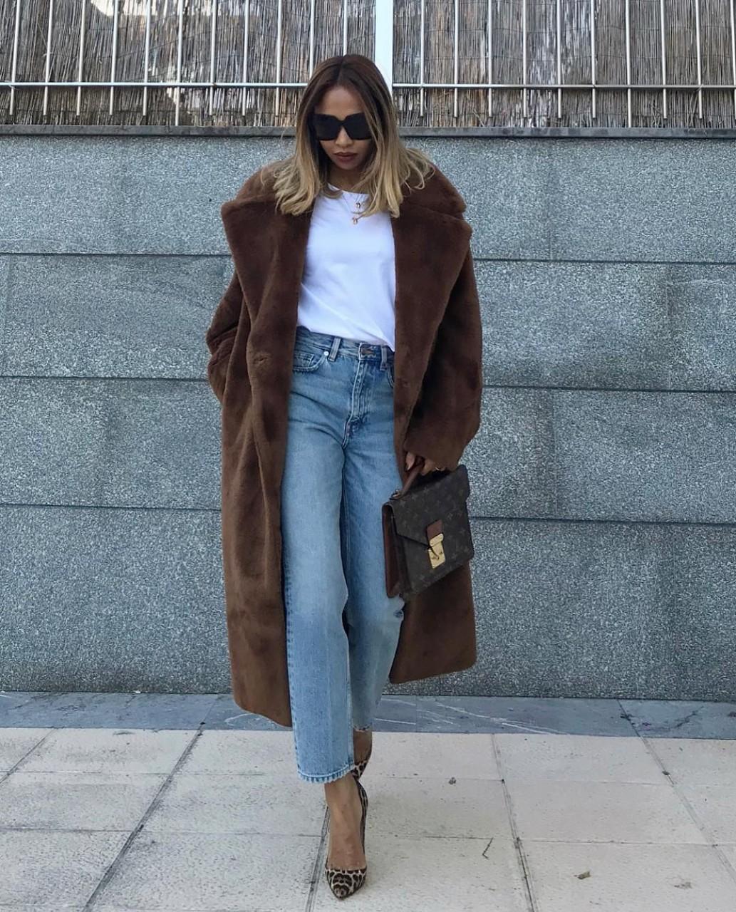 С чем носить длинное пальто 2019: 22 идеи, которые помогут вам утеплиться красиво