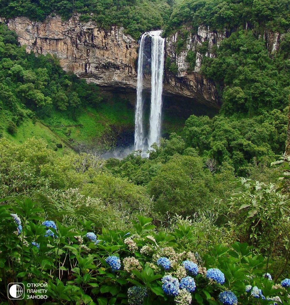 Каракол - водопад, не уступающий Игуасу по красоте