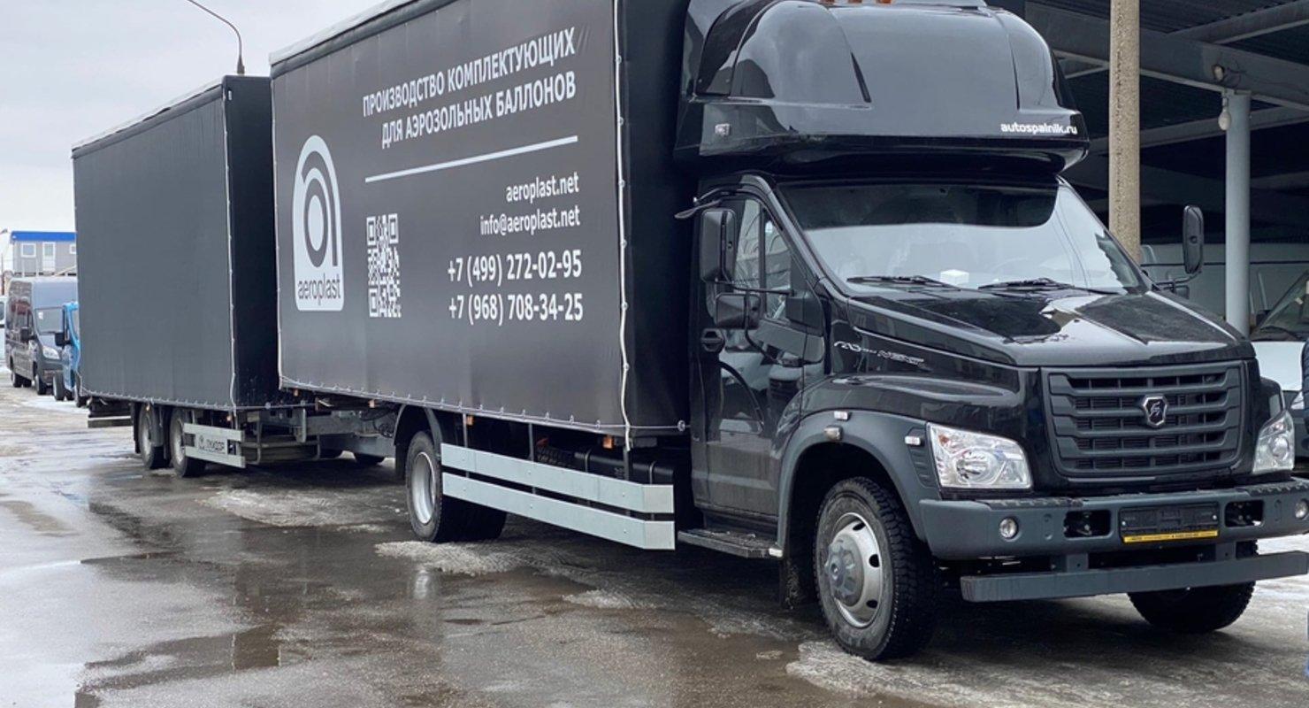 «Луидор» показал автопоезд и автовоз на базе «ГАЗона» Автомобили