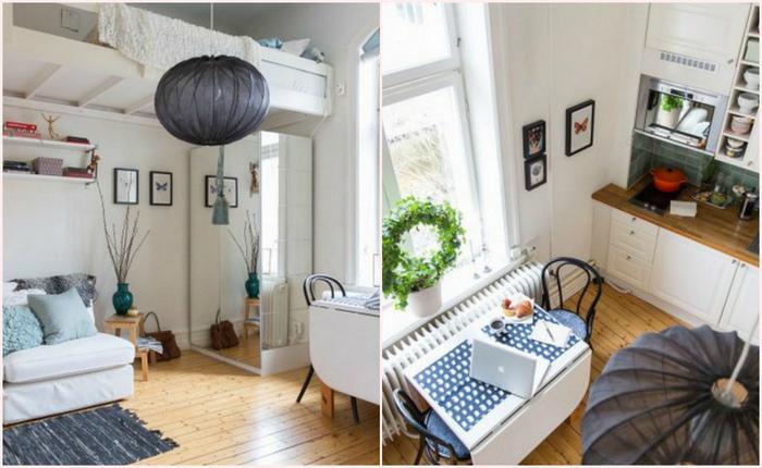 Большие секреты маленькой квартиры: Как «выжать» максимум функциональности из 16 кв. метров