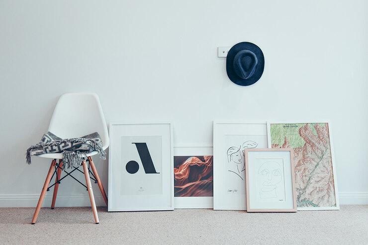 Что повесить в раму вместо картин и фотографий: 10 необычных идей идеи для дома,интерьер и дизайн