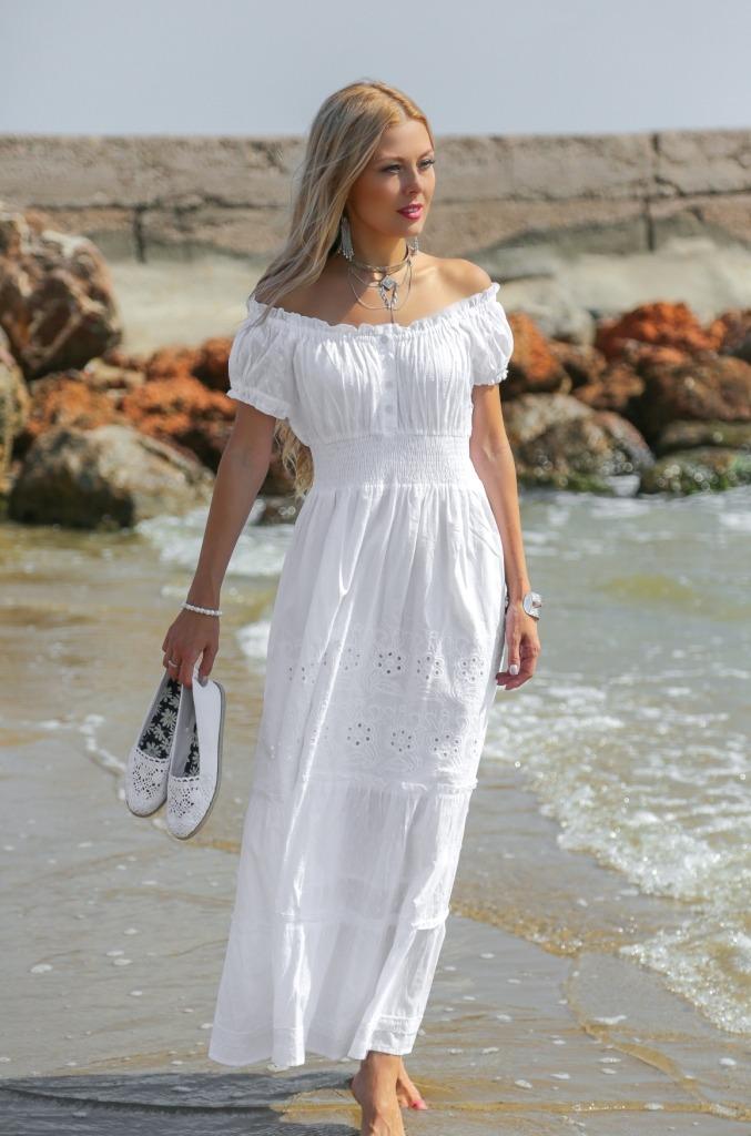 f2955b6b58991ab Модные белые кружевные платья: эталон женственности и красоты