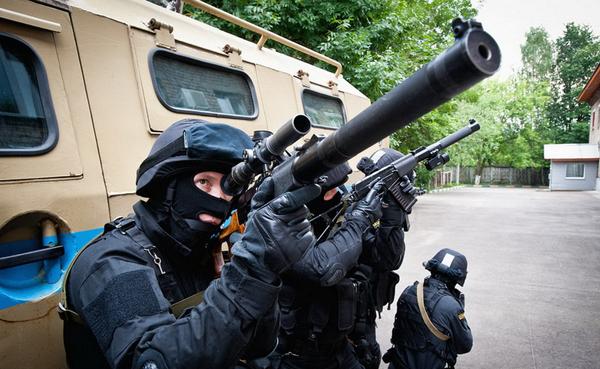 Спецназ полиции РФ