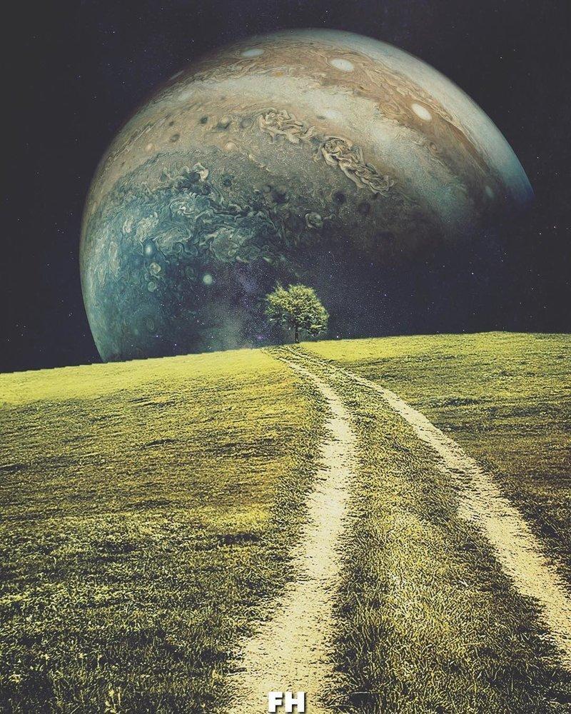 Пейзажи из другого измерения: если бы Земля и космос были немного другими…