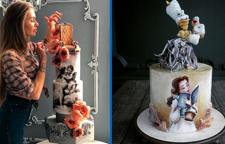 20 невероятных тортов от самого красивого кондитера из Калининграда