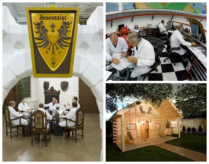 В таком офисе работать одно удовольствие (компания «Invention Land», Питсбург).