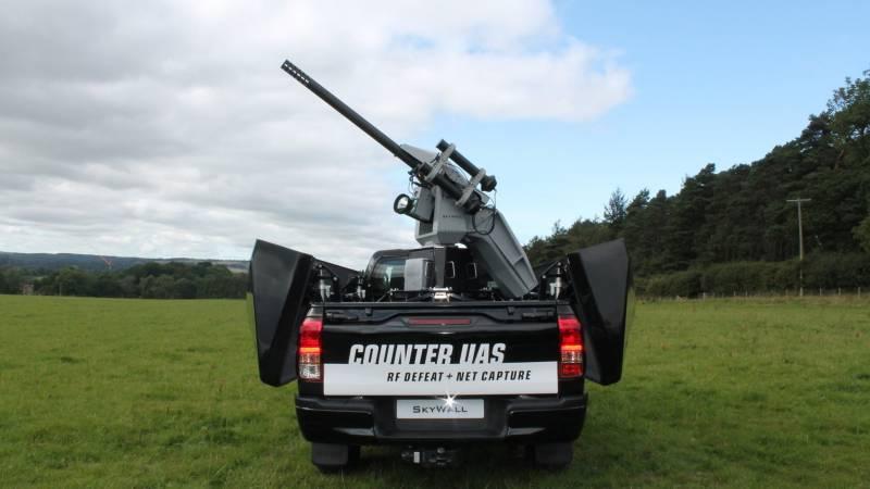 Комплекс борьбы с БПЛА SkyWall 100  оружие
