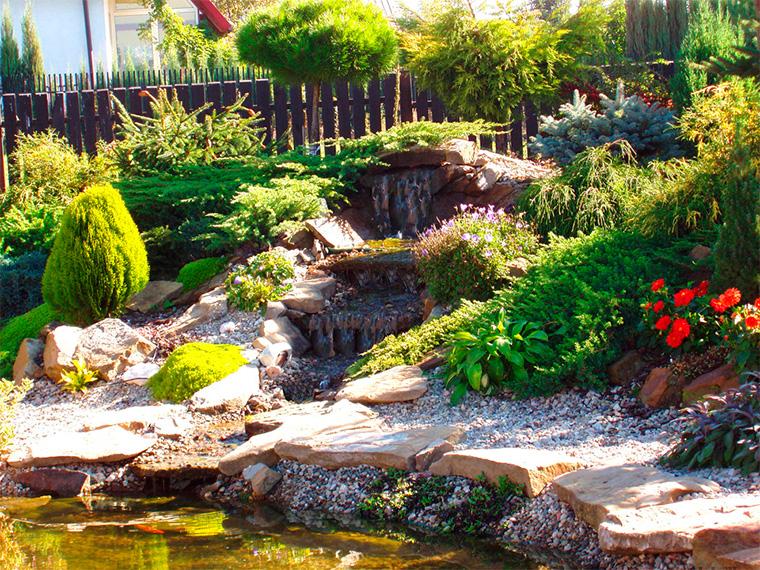 Садовая скамейка из камня Своими руками (Усадьба) 34
