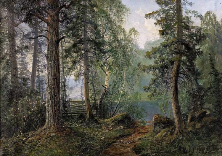 Шведский художник Johan Kindborg