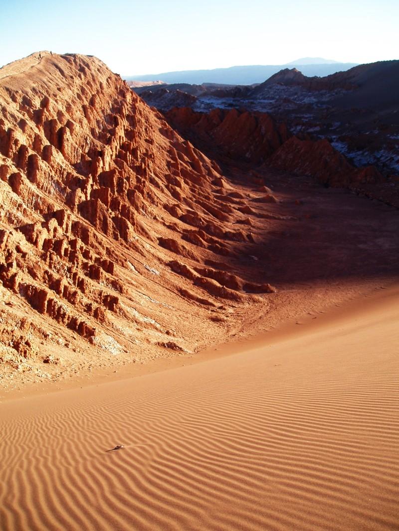 18. Лунная долина в Чили (Валле де ла Луна). красивые места, прекрасная планета, чудеса природы