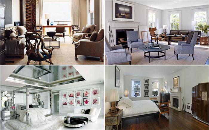 В гостях у знаменитостей: примеры стильных и модных интерьеров