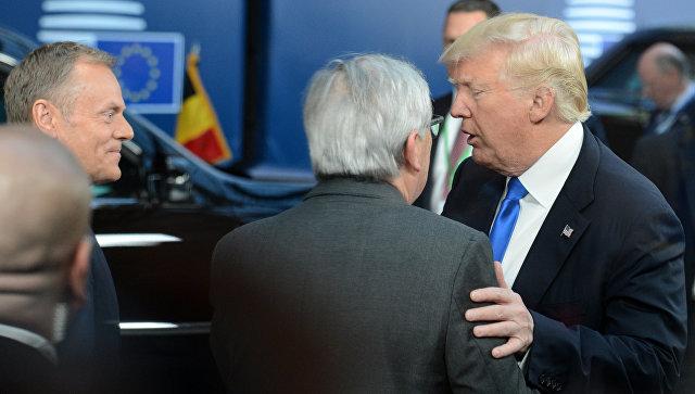 Трамп выдал новый перл: Немцы очень-очень плохие
