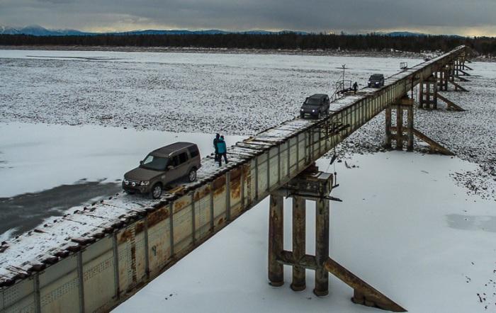 Куандинский мост - самая страшная переправа в России