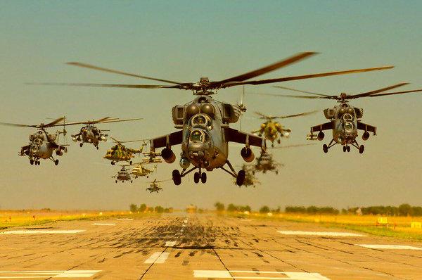 Иностранцы о Вежливых вертол…