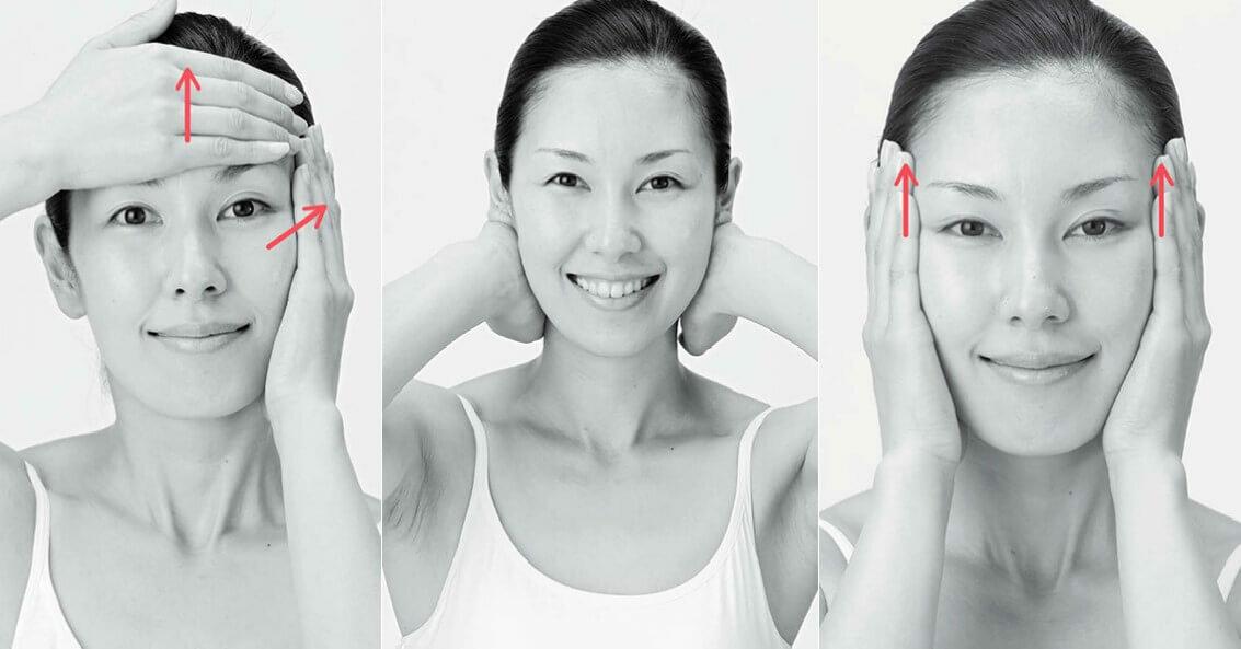Массаж против морщин - самые эффективные техники красота,массаж лица,мода и красота,уход за собой
