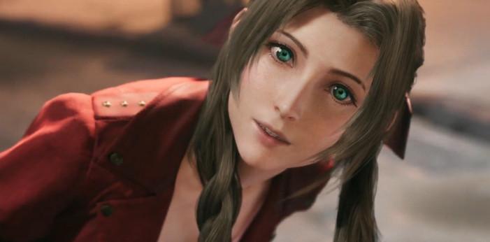 Косплей цветочницы из Final Fantasy VII