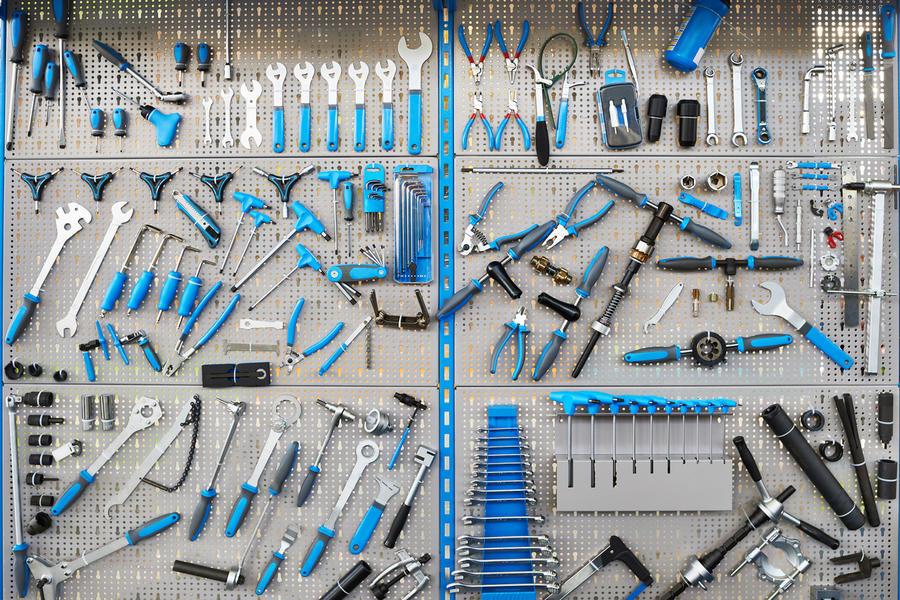 Системы хранения инструмента, которые помогают навести порядок