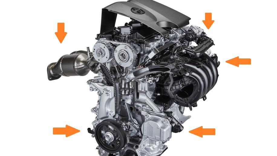 Тойота создала самый эффективный 2,0 литровый бензиновый двигатель