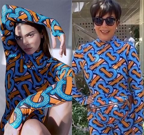Модная битва: Кендалл Дженнер против Крис Дженнер