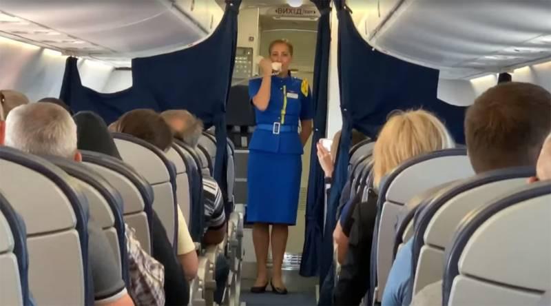 Иностранные пассажиры отреагировали на исполнение «Ще не вмерла» на украинских рейсах