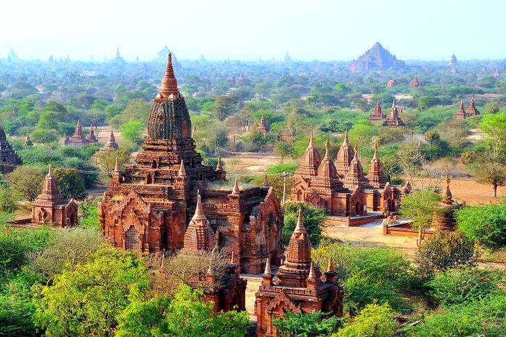 Из Бирмы в Мьянму: 11 стран, которые изменили свои названия география,страноведение,страны