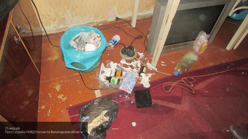 """Полиция под Череповцом прикрыла """"нехорошую квартиру"""""""