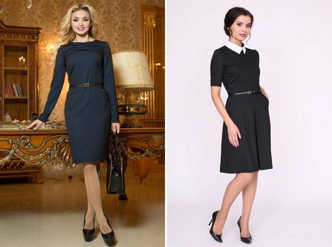 платья строгого стиля